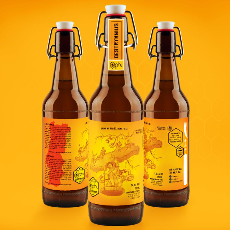 Ophi Beer - Ale OESTRYMNIOS